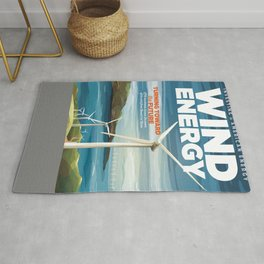 US Department of Energy LPO Poster - Wind Energy (2016) Rug