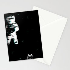 Spaced Dreams (Moon Traveler) Stationery Cards
