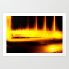This Way to the Basement Art Print
