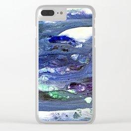 Fluid blend Clear iPhone Case