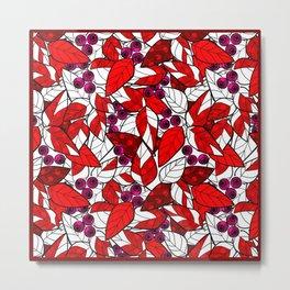 Retro . Bright colorful pattern . Metal Print
