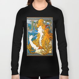 "Alphonse Mucha ""Job"" Long Sleeve T-shirt"