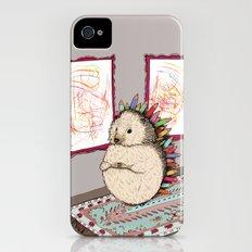 Hedgehog Artist Slim Case iPhone (4, 4s)
