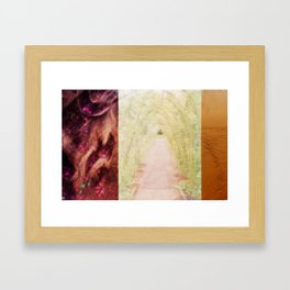 .grOwth,journey,enJoy. Framed Art Print