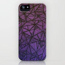 A Web of Glitter iPhone Case