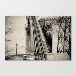 Welcome to Vicksburg 2 Canvas Print