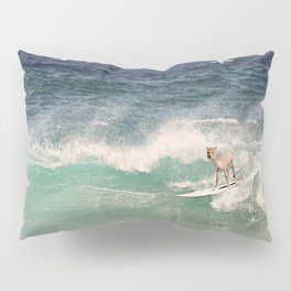 NEVER STOP EXPLORING - SURFING HAWAII Pillow Sham