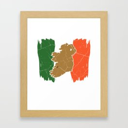 Ireland Dublin Gift Irish Catholic Framed Art Print