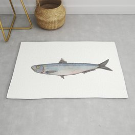 Sardine: Fish of Portgual Rug