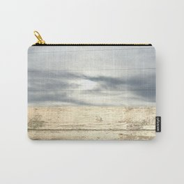 landscape 001: telegraph sky over white woods Carry-All Pouch