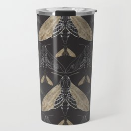 Moth pattern Travel Mug