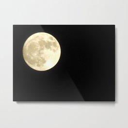 Rock on, super moon! Metal Print