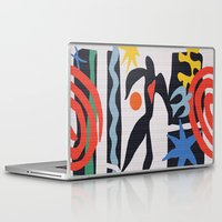 matisse Laptop & iPad Skins featuring inspired to Matisse (black) by Chicca Besso