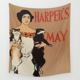 Harper's May 1898 Wall Tapestry