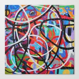 Any Colour U Like 9 Canvas Print