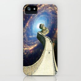 A Wall to Exploration iPhone Case
