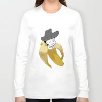 cowboy Long Sleeve T-shirts featuring cowboy by DESIGN KIKI