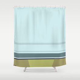 Santa Monica Horizon 0114 Shower Curtain