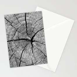 Weathered Old Wood Texture Stationery Cards