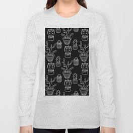 Cactus - black Long Sleeve T-shirt