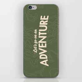 The Adventure iPhone Skin