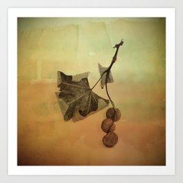 One Spring Leaf Art Print