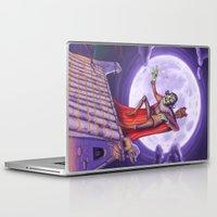 dracula Laptop & iPad Skins featuring Dracula by cheesecake