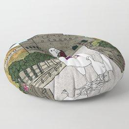 Peking duck1 Floor Pillow
