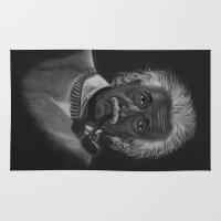 einstein Area & Throw Rugs featuring Einstein by Paula Leão