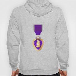 Purple Heart Medal Hoody