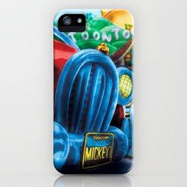 Mickey's Jalopy iPhone Case