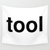 tool Wall Tapestries featuring tool by linguistic94