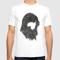 Chewie Mens Fitted Tee White SMALL
