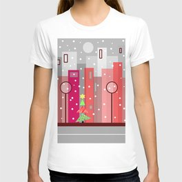 Christmas In The City T-shirt