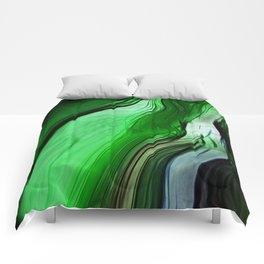 Liquid Grass Comforters