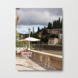Dining With a View Metal Print