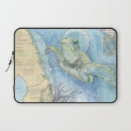 West Palm Beach Turtle Laptop Sleeve
