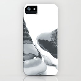 AJ 11 Retro B&W iPhone Case
