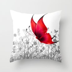 Fantasy Butterfly #10 Throw Pillow