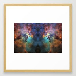 Cosmic tiger Framed Art Print