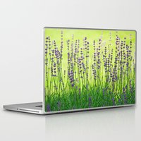 lavender Laptop & iPad Skins featuring Lavender by Tanja Riedel