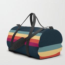 Retro Stripes Thunderbird Duffle Bag