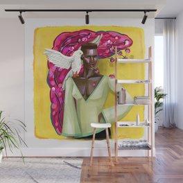 Grace Jones' Makeover Wall Mural