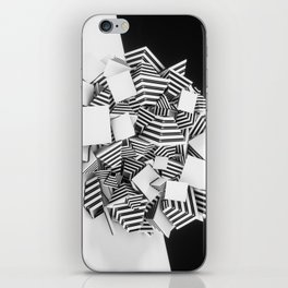Abstract Pyramid 3D Illustration iPhone Skin