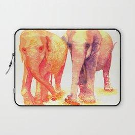 A couple of elephants Laptop Sleeve