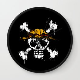 Skull - Pirates Wall Clock