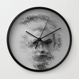 The Unknown selfie Wall Clock
