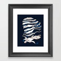 Sarah Unraveled Framed Art Print