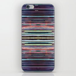 Scalloped Sunset, Finely Sliced. iPhone Skin