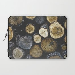 Stacked wood Laptop Sleeve